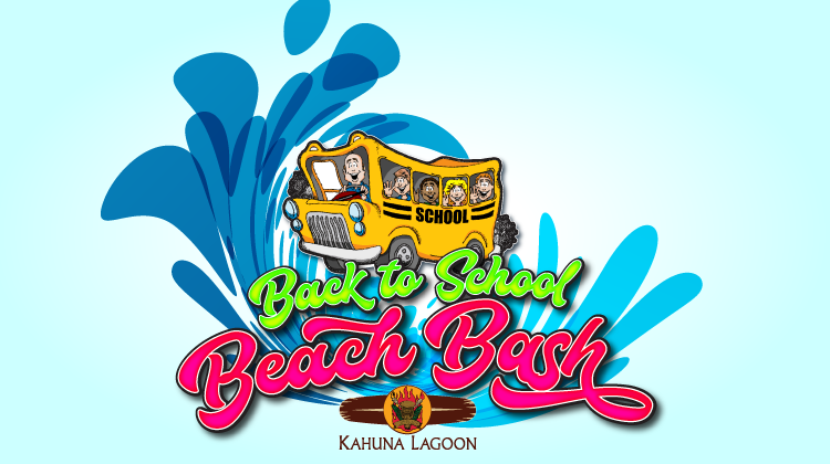 Back to School Beach Blast Pool Party